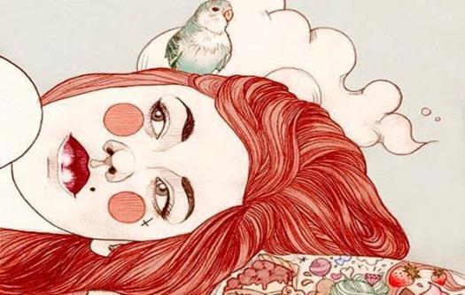 Mujer cansada de soportar la vida