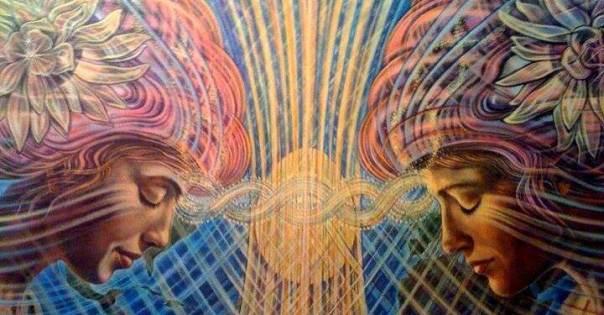 mujeres imagen espiritual de la conciencia