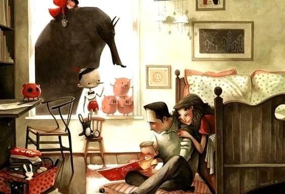 familia-en-casa