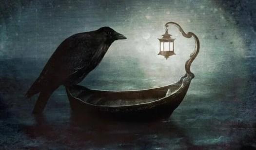 cuervo cercanía muerte