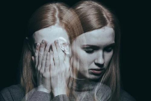 Chica con esquizofrenia debido a problemas en la corteza entorrinal
