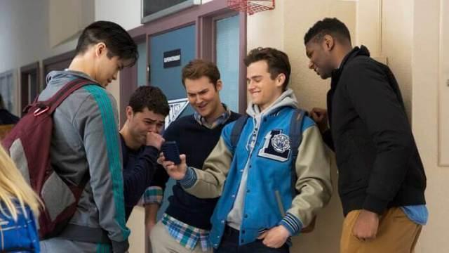 Chicos en el instituto
