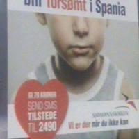 Campaña en Noruega para alimentar niños de inmigrantes noruegos en España.