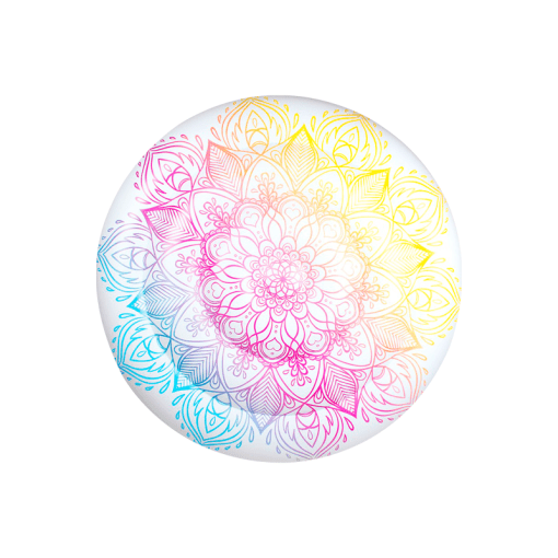 Inflable de Mandala Blanca