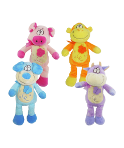 Sonaja de Peluche de Animalitos de Colores