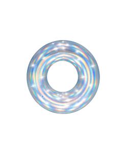 Inflable Flotador Forma de Dona Tornasol