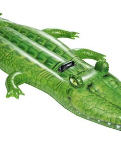 Inflable Flotador Montable de Cocodrilo Infantil