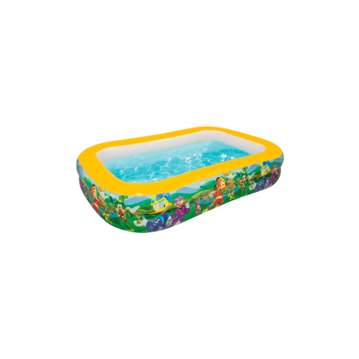 Alberca Inflable Infantil Rectangular Mickey