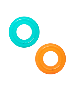 Inflable Flotador de Dona Transparente Infantil