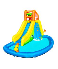 Parque Acuático Inflable Montaña Splash Infantil