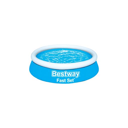 Alberca Inflable Circular Azul Infantil 1.83 m