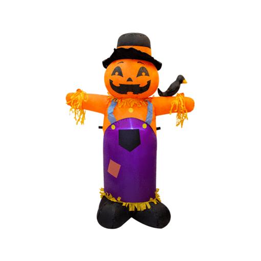Inflable Halloween Espantapájaros con Luz Led