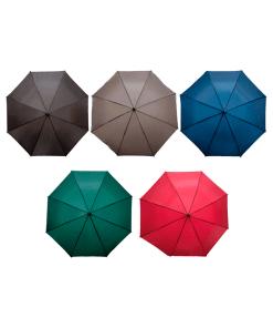 Paraguas De Colores Con Filtro Uv Mango Curvo