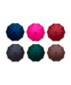 Paraguas Sombrilla Liso Color Semiautomático