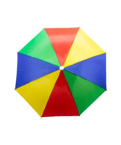Paraguas Sombrilla Arcoíris para Cabeza
