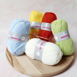 Laine Acrylique Knitty 4 – 50gr – DMC