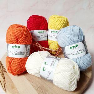 Laine Coton King Cotton – 50gr – Gründl