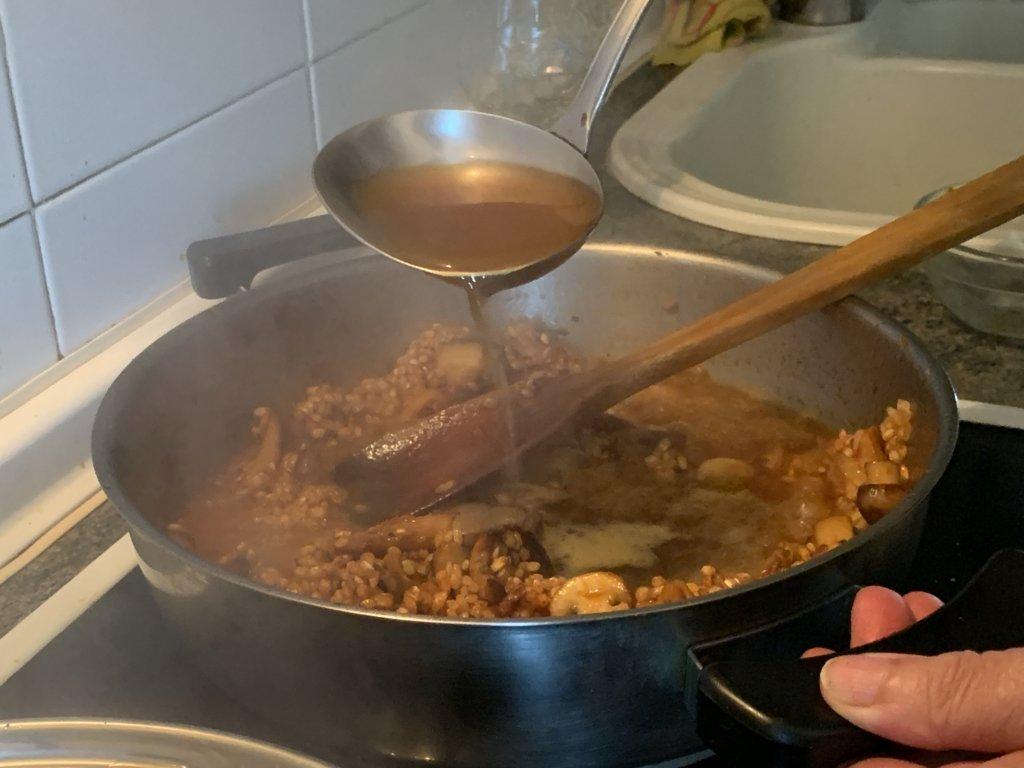 mesa-habla-arroz-meloso-setas-foie 8
