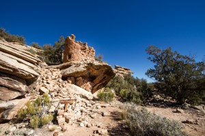Painted Hand, located in the Canyon of the Ancients National Monument