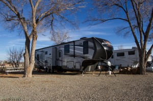 Sites big enough for a huge fifth wheel