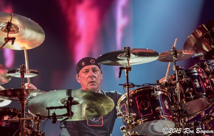 Neil Peart Rush R40 live Los Angeles Forum
