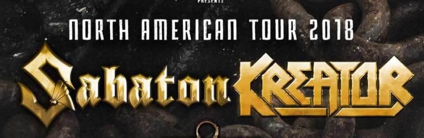 Sabaton-Kreator North Ametican Tour 2018