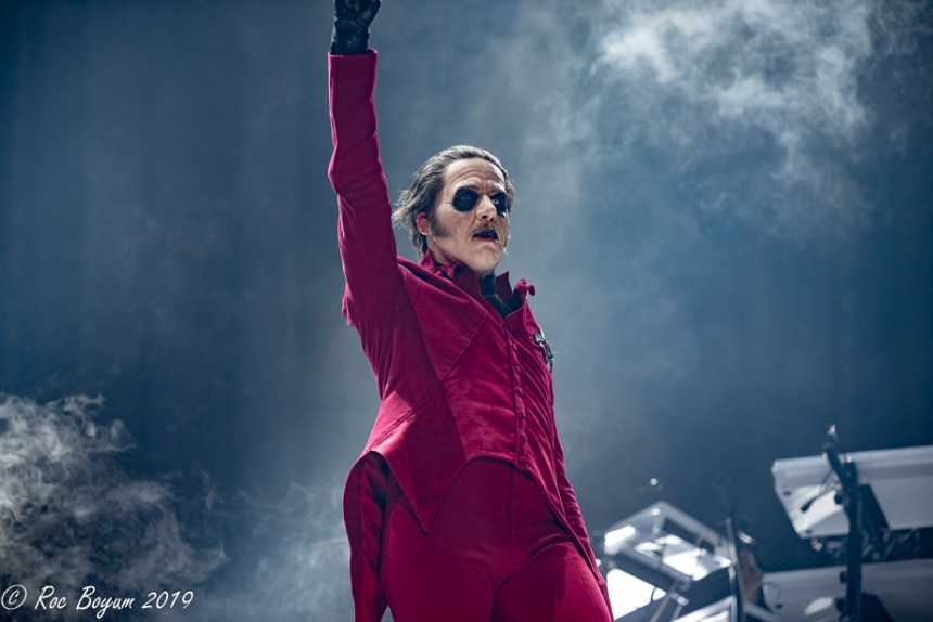 Ghost Tobias Forge Live Rabobank Arena