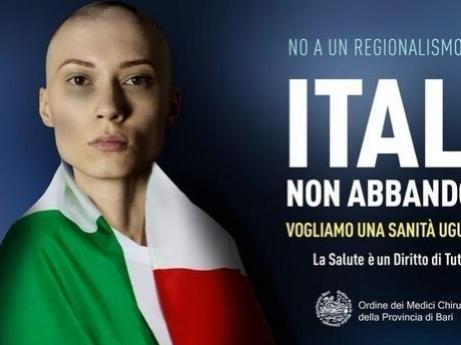 """Bari, affisso il manifesto per """"l'appello dell'Ordine dei medici"""""""