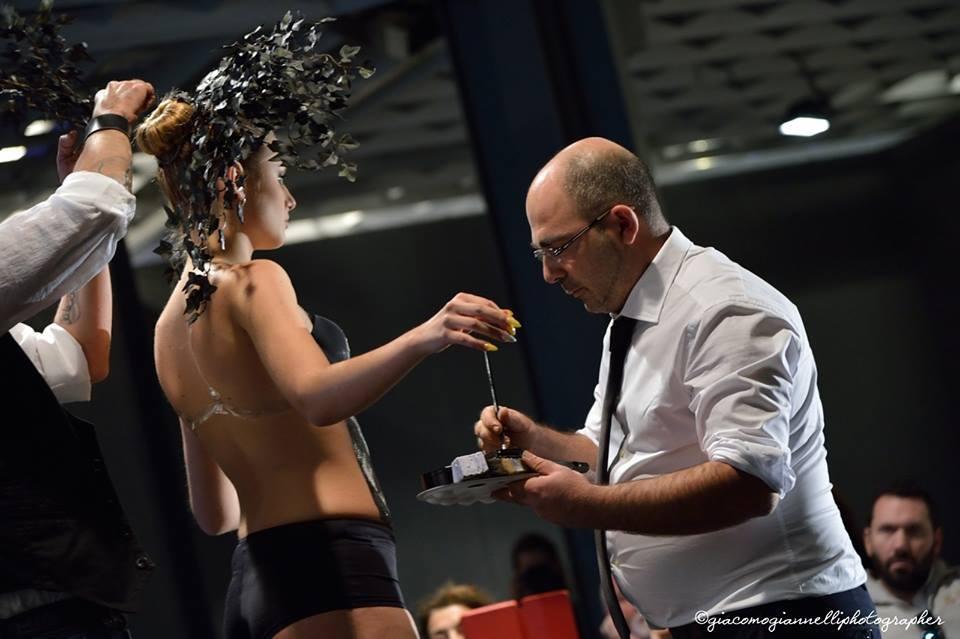 """Michele Casto, """"Alla Milano Fashion Week ho portato la  Grecia Salentina""""."""
