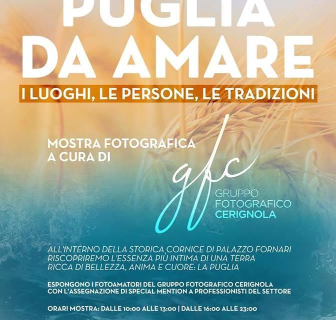 Mostra fotografica Puglia da Amare: gli splendidi scatti del Gruppo Fotografico Cerignola