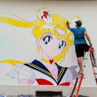 Paolo Carriere: a Grottaglie (Ta) l'arte è racchiusa in un murales