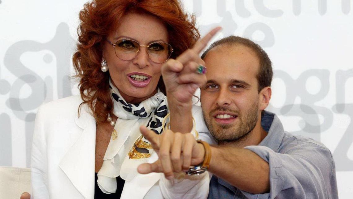 """Sophia Loren a Trani: """"Girerò un film diretto da mio figlio Edoardo"""""""