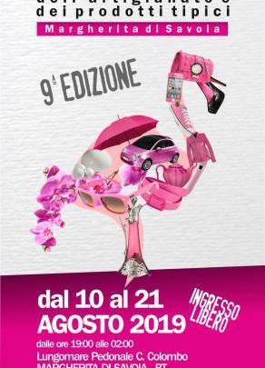 Margherita di Savoia: Dal 10 al 21 Agosto ci sarà la Fiera Nazionale dell'artigianato e dei prodotti tipici