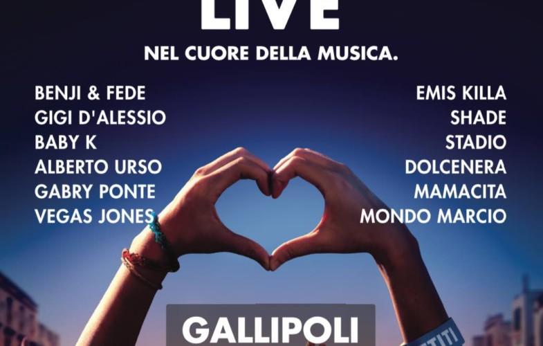 Battiti Live approda a Gallipoli: Ecco tutti i nomi degli artisti della penultima serata