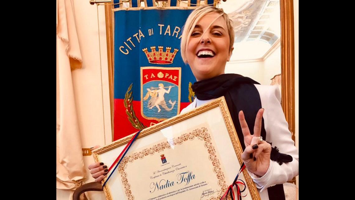 Taranto vuole dedicare un reparto Oncoematologico Pediatrico a Nadia Toffa – La raccolta firme