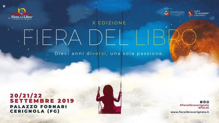 """Da Venerdì parte la X edizione della """"Fiera del Libro – Cerignola"""": Programma e informazioni"""