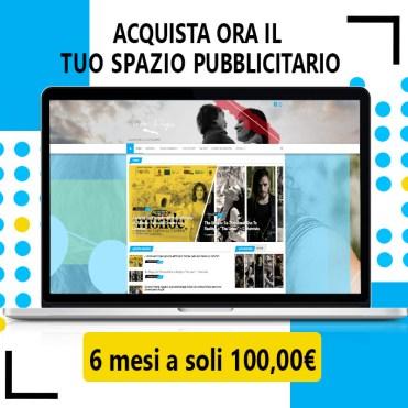 Acquista ora il tuo spazio pubblicitario: 6 mesi a 100,00€