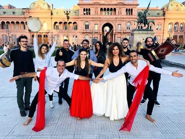 La Puglia è stata a Buenos Aires con la Notte della Taranta.