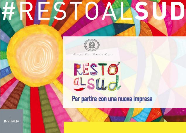 """""""Resto al SUD""""-  La nuova misura rivolta ai nuovi imprenditori under 35 – Finanziamenti fino a 200.000 euro"""