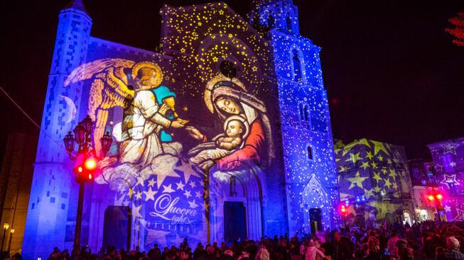 Lucera: la Magia delle feste tra luci e casa di Babbo Natale