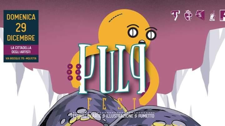 Pulp Fest: Festival di Arte, Illustrazione e Fumetto, al via la seconda edizione a Molfetta (Ba)