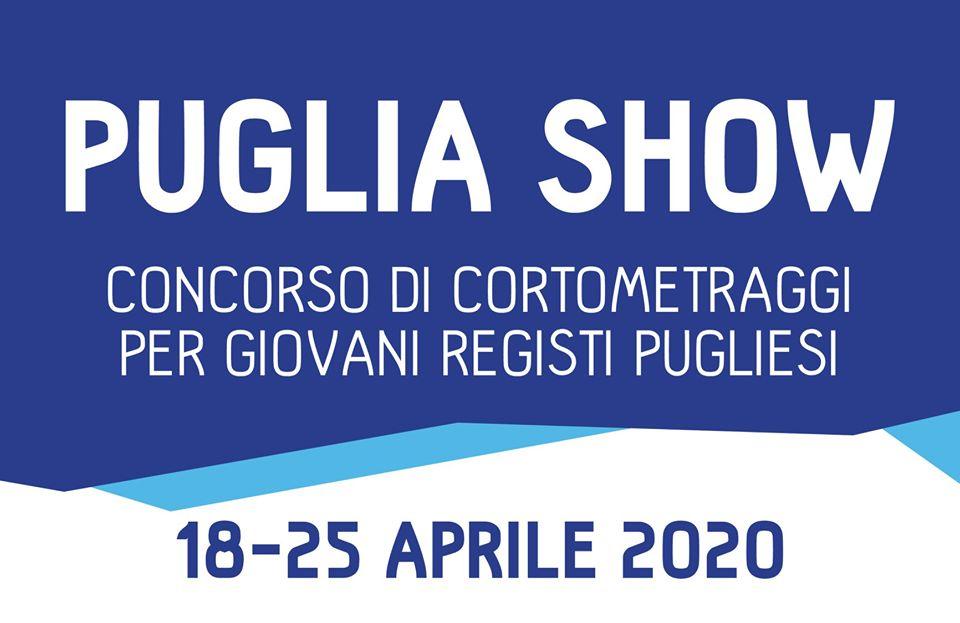 PUGLIA SHOW: Concorso di cortometraggi per giovani registi pugliesi: iscrizioni fino al 29 Febbraio 2020
