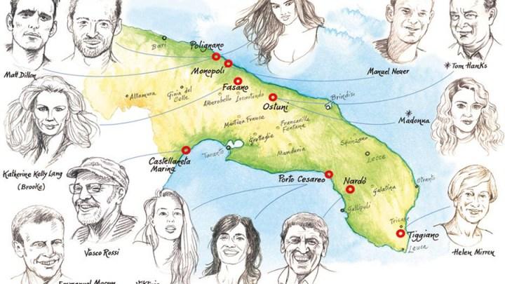 Anche questa sarà un'estate d'oro in Puglia: ecco chi sono i Vip in arrivo