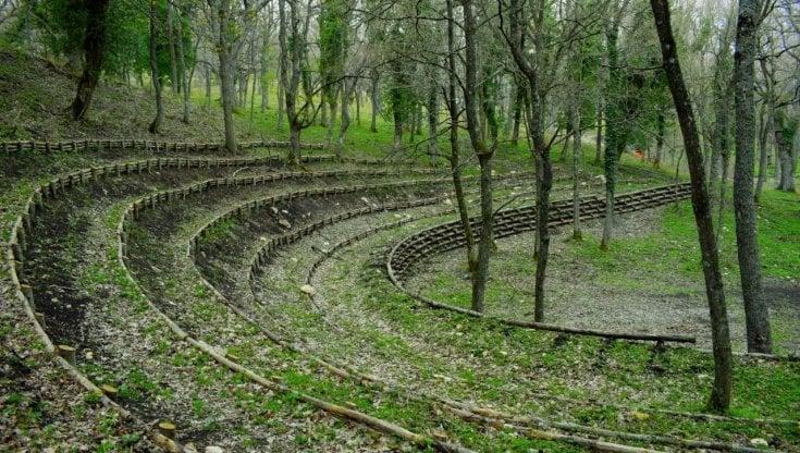 Biccari: il progetto del teatro nel bosco per far ripartire la cultura in sicurezza