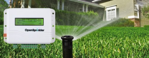 Impianto irrigazione smart OpenSprinkler