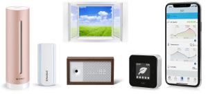 Analisi aria domestica Sensore qualità aria Misuratore CO2 aria