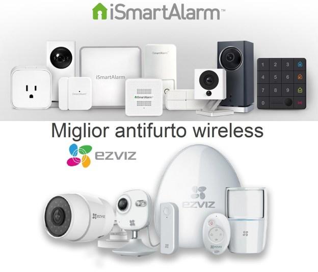 Miglior antifurto casa wireless ismartalarm o ezviz allarmi smart - Miglior antifurto casa wireless ...