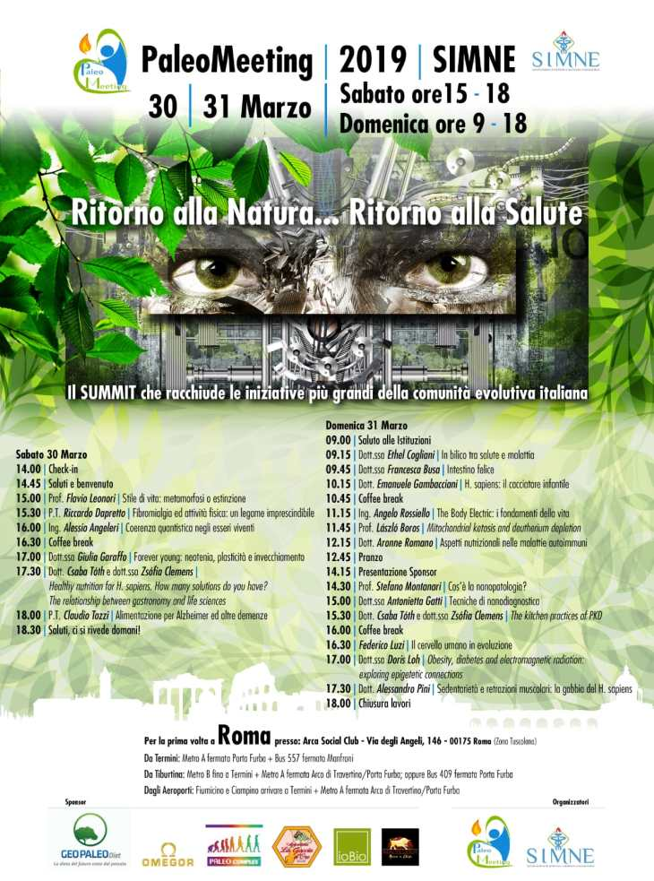 Programma Provvisorio PaleoMeeting 2019