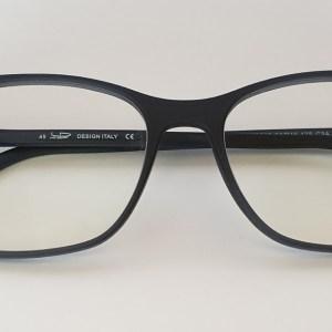 Occhiali Blue Blocks Lenti Chiare Certificate CE - Square Black