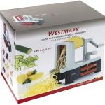Westmark Affettaverdure spiromat Utensili da Cucina, Acciaio Inossidabile